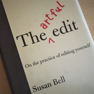 Learning to Edit with The Artful Edit, by Susan Bell