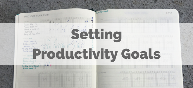 Setting Productivity Goals