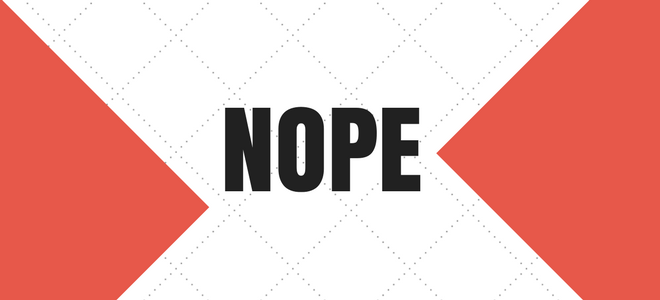 NOPE - Rejection Letter
